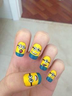Despicable Me Nails