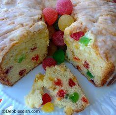 Colourful Gumdrop Cake