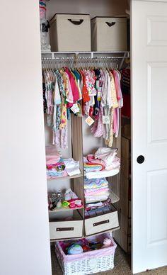 Baby Girl Closet | Cleaning U0026 Organizing | Pinterest | Baby Girl Closet, Girl  Closet And Babies