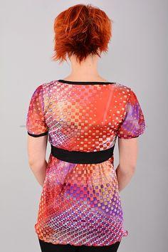Туника Б8135 Цена: 252 руб Разноцветная туника выполнена из легкой полупрозрачной ткани. Состав: 100 % полиэстер. Размеры: 42, 44, 46, 48  http://odezhda-m.ru/products/tunika-b8135  #одежда #женщинам #платья #одеждамаркет