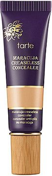 Tarte's Maracuja Creaseless Concealer is the perfect combination: offers long-lasting, full coverage in a rich, creamy and velvety texture with pure, skin-soothing ingredients.