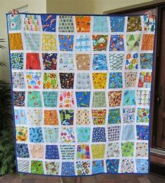 Patchwork Duck Designs: I Spy Tumbler Baby Quilt and Other Gifts! Quilt Baby, I Spy Quilt, Baby Clothes Quilt, Tumbler Quilt, Scrappy Quilts, Colours, Blanket, Sewing, Fabric