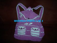 In this space you will find videos to do crochet work step by step, A if like some other crafts, in an easy and practical way. Crochet Purse Patterns, Crochet Purses, Mochila Crochet, Crochet Videos, Paracord, Fashion Backpack, Purses And Bags, Backpacks, Handbags
