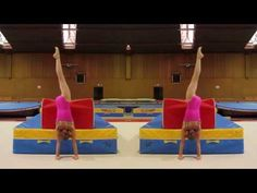 Cartwheel drills from Gymneo TV | Swing Big! Gymnastics Blog Really detailed explanation of which muscles are being used and a lot of drills