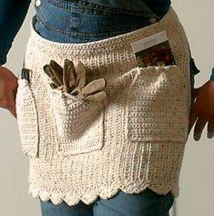 Gardener's Apron Crochet World Magazine April 2009