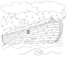 noah and the animals coloring sheets pinterest - Noahs Ark Coloring Pages Print
