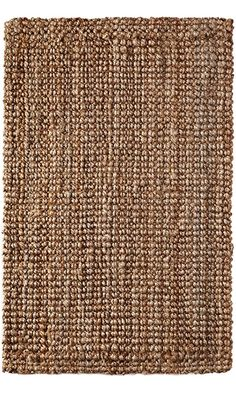 Iron Gate Handspun Jute Area Rug 3x5 Hand woven by Skilled Artisans, 100% Natural eco-friendly Jute yarns, Thick ribbed construction, Reversible for double the wear, Rug pad recommended Best Price