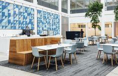 Baux acoustic tiles at the KPMG Copenhagen office