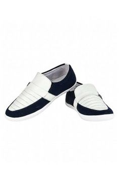 White and Black Sneakers For Men
