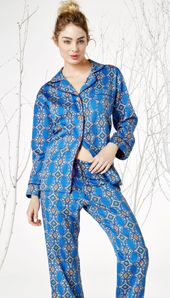 """""""Royal Foulard"""" from Bedhead is such a classic - The Pajama Company"""