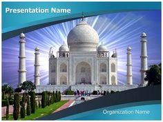Check out our professionally designed #Taj Mahal #PPT #template. Download our…