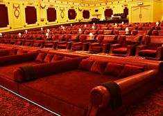 The Electric (Cinema with bed seats) - I also loved the fact I could eat proper food & drinks while film's playing.