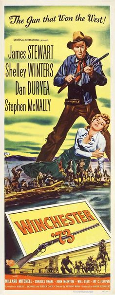 """""""Winchester '73"""", western film by Anthony Mann (USA, 1950)"""