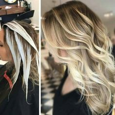 """9,384 Likes, 56 Comments - behindthechair.com (@behindthechair_com) on Instagram: """"* Rays of Light .... get the HOW-TO, Formulas & Pricing on Behindthechair.com! Search """"Rays of…"""""""