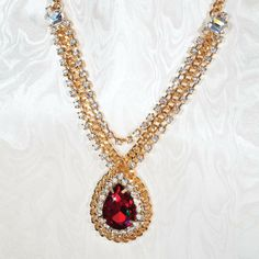Ravishing Red Necklace 26185 | Stauer.com
