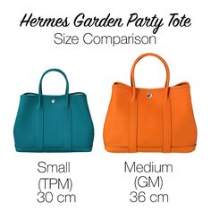 Looking for a staple tote? Consider the Hermes Garden Party Tote. Read all about this H bag in our new Hermes 101 Class!