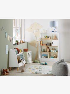 Regal für Kinderzimmer - WEIß/NATUR - 3