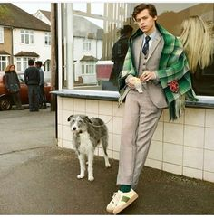 Harry for the Gucci Tailoring Campaign