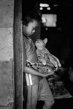 """""""El hombre puede medir el valor de su propia alma en la mirada agradecida que le dirija un animal al cual ha socorrido."""" Platón"""