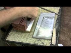 Morton provides a detailed explanation of one way to sharpen your card scrapers in this helpful video. http://www.highlandwoodworking.com http://www.scottmor...