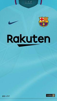 Fc Barcelone Kits Away 2017 Fifa Football, Football Kits, Football Jerseys, Basketball, Fc Barcelona, Lionel Messi Barcelona, Camisa Arsenal, Messi Logo, Barcelona Champions League