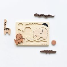 Newborn Toys, Safari Animals, Puzzles, Baby Kids, Tray, Explore, Natural, Gallery, Summer