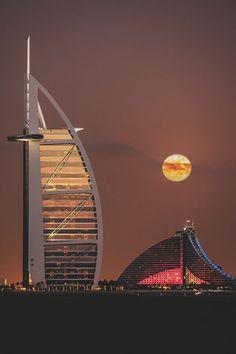 Hotel Burj Al Arab, Dubai.