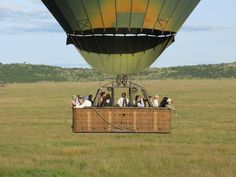 #BalloonSafaris in #Tanzania are a romantic and evocative way of experiencing the wild life safari. Silently fly over the plains and enjoy the animal's daily life activity. http://www.globalwidesafaris.com/balloon-safaris/