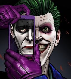 John Doe ( joker ) from the batman the enemy within episode 5 ( same stitch ) poster Le Joker Batman, Joker And Harley Quinn, The Joker, Joker Dc Comics, Gotham Batman, Batman Art, Batman Robin, Batman Telltale, Joker Film