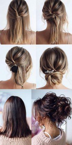 20 medium length wedding hairstyles for brides 2020   coiff #brides #coiff #hairstyles #length #medium #wedding
