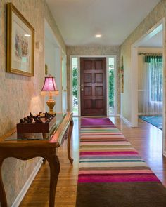Get Clever With Area Rugs for Warmth and Beauty Give feet a soft landing, protect your floor, hide a stain ... with area rugs in your arsen...
