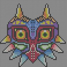 It's a Majora's Mask pattern. I made it on my phone using Bead Studio. I have been looking for a pattern for ever, so now no one will have to look again. it can be made on 4 29x29 connected into a ...
