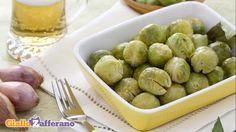 Cavoletti alla birra Sprouts, Dishes, Fruit, Vegetables, Recipes, Food, Cabbages, Carne, Contouring
