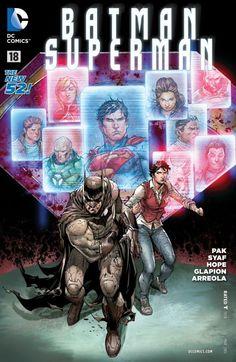 Batman/Superman (2013) #18 #DC #BatmanSuperman (Cover Artist: Jonathan Glapion, Ulises Arreola Palomera & Ardian Syaf) Relase Date: 1/21/2015