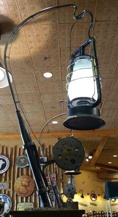 Fishing Pole Lamp