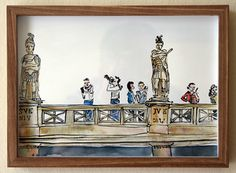 Past Exhibitions — The Voorkamer Gallery Watercolour, Roman, Past, Ink, Gallery, Drawings, Frame, Painting, Decor