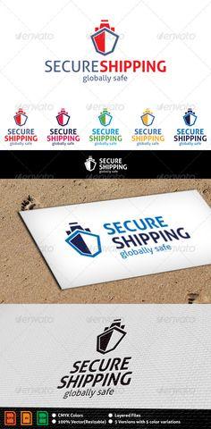 Shipping Logo - Objects Logo Templates