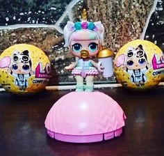 queen bees pet Lol suprise pup bee brand new gold ball htf rare