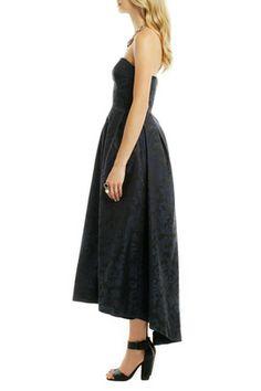 shop designers monique lhuillier madame damask dress
