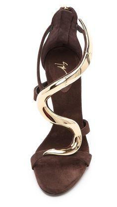 Giuseppe Zanotti Alien Hinged Sandals