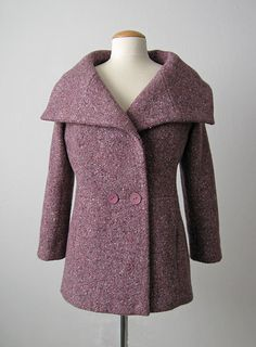 Burda Plum jacket front