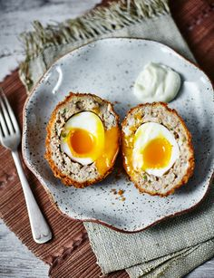These are no ordinary Scotch eggs! Chicken teriyaki chicken Scotch eggs will wow your friends and family this Easter.