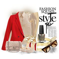 Red Hot Gold, created by mellr on Polyvore