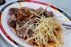 薑絲、醬油、肝連。@意麵王 #Taiwanese pork #side-dishes #food #Taiwan