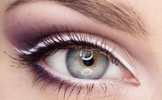 #eyes #makeup #lilac for spring