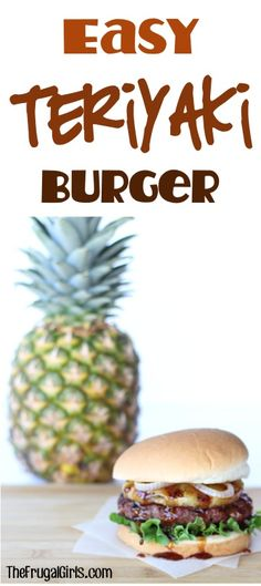 Easy Teriyaki Burger Recipe! ~ from TheFrugalGirls.com ~ this asian infused hamburger is the Best Ever... bursting with flavor, delicious toppings, and perfect for grilling season! #burgers #recipes #thefrugalgirls