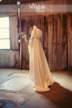 Bridal cape 73 inch RoyalTrain  Ivory / Latte by capeandcrown13, $180.00 --perfect for my winter wedding!