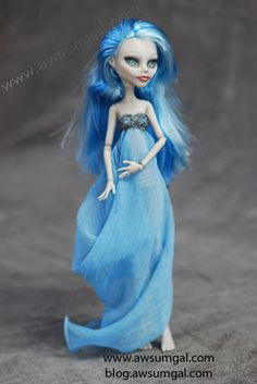 Custom Gown for Monster High Dolls by Awsumgal | eBay