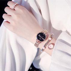 Elegant Watches, Stylish Watches, Beautiful Watches, Luxury Watches, Ladies Bracelet Watch, Fashion Casual, Fashion Women, Luxury Fashion, Watches Photography