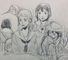 Manga Drawing, Manga Art, Anime Art, Kunst Inspo, Art Inspo, Pretty Art, Cute Art, Art Sketches, Art Drawings